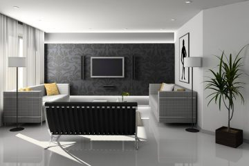 living room - modern design
